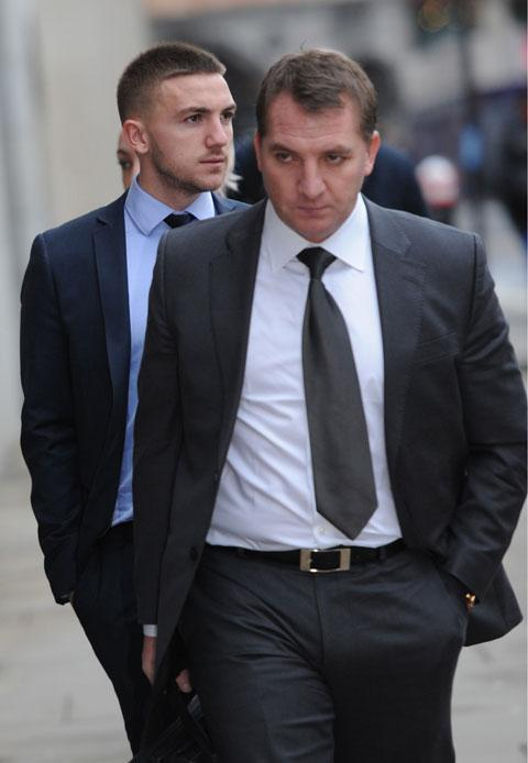 Anton and Brendan Rogers
