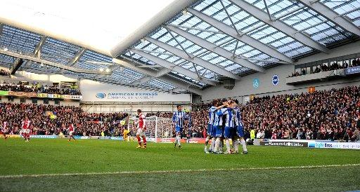 The Amex will be playing host to England's under 21's