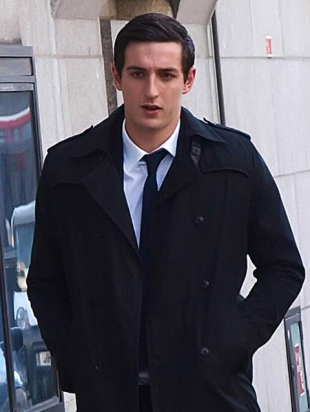 Lewis Dunk arriving at the Old Bailey today  – Max Nash/PA Wire