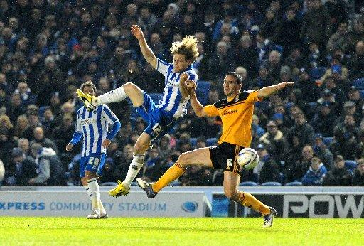 Craig Mackail-Smith can expect more chances to play with Leo Ulloa