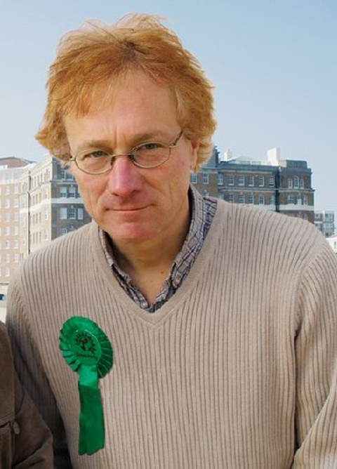 Green Party candidate for Hove Christopher Hawtree