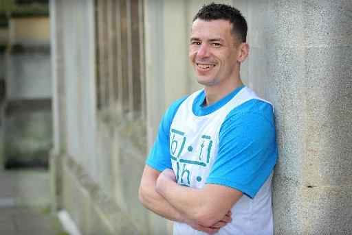 James Danks is running the Brighton half marathon for Brighton Housing Trust