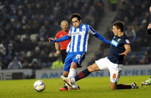 Vicente is seen as crucial to Albion's play-off hopes