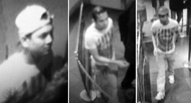 CCTV footage released by Sussex Police as part of beach rape investigation.