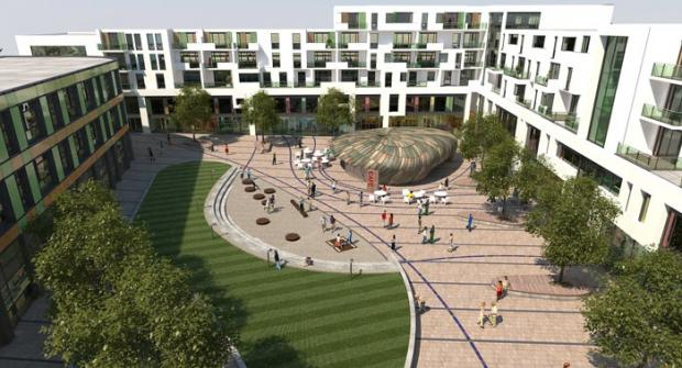 Pledge to continue stalled £100m Hove development
