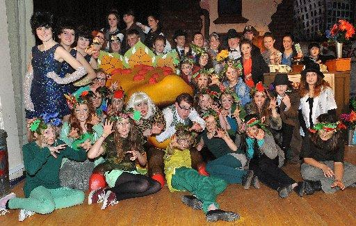 The cost of the Hove Park School production of Little Shop of Horrors