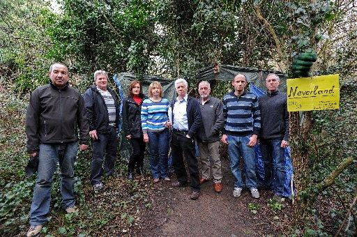 Residents of nearby Benfield Way, Portslade are angry about the nearby encampment