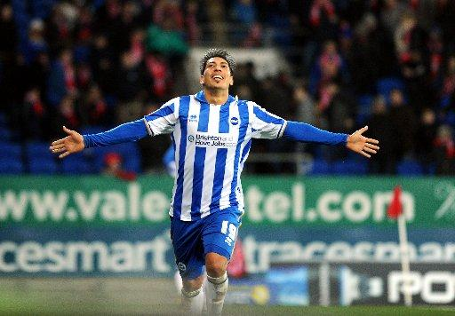 Leo Ulloa headed Albion's winner