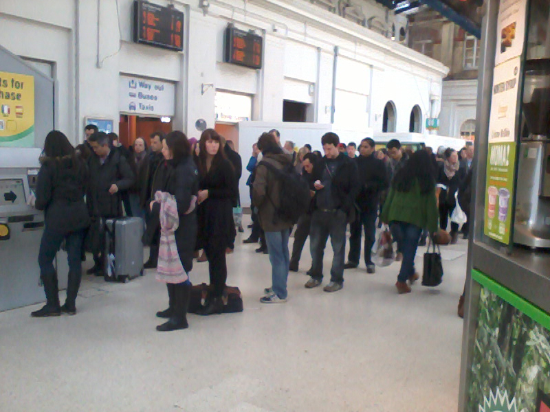 Travel hell as ticket machines fail at Brighton Station