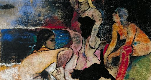 RB Kitaj, The Rise of Fascism, 1979-1980. Image: Tate, London 2012 © RB Kitaj Estate