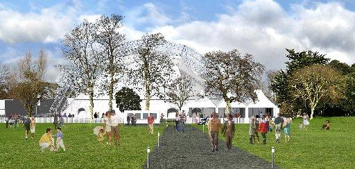 The Argus: An artist's impression of Theatre In The Park