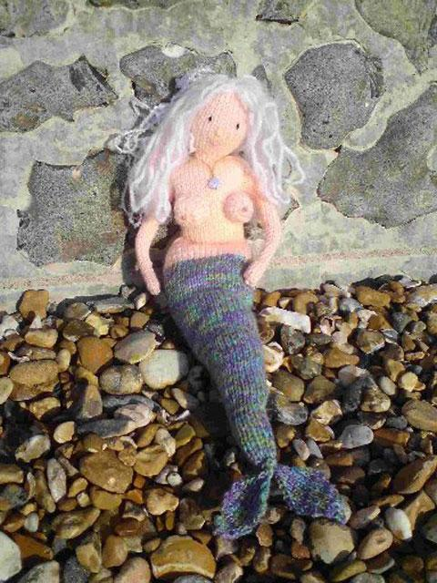 Monica Crowe's saucy mermaid
