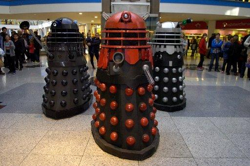 Daleks invade Churchill Square
