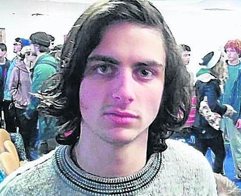 Student protester Hugo Redwood