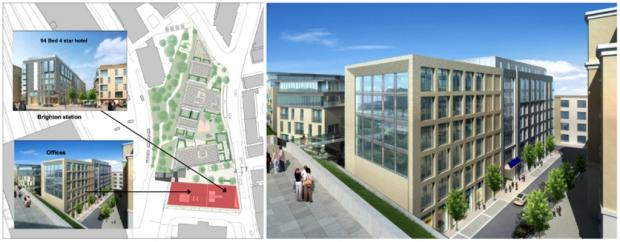 Masterplan: artist's impression of Block J
