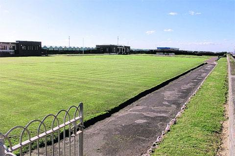 Bowling greens at Western Lawns, Hove,
