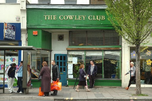 Right-wing extremists have posted threats against members of Brighton's Cowley Club