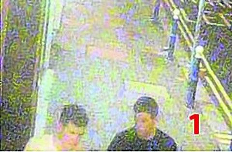 Two men wanted after a bike was stolen from Eastbourne Station