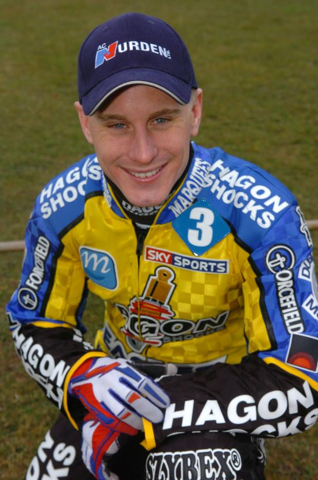Lee Richardson, who died after crashing during a race