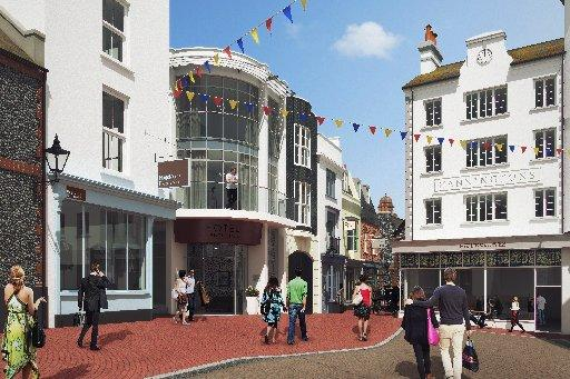 PLANS: How the scheme for Brighton Square could look