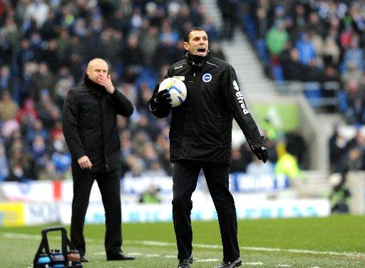 Gus Poyet says draws are no good to the Seagulls