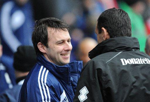 Dougie Freedman with Gus Poyet