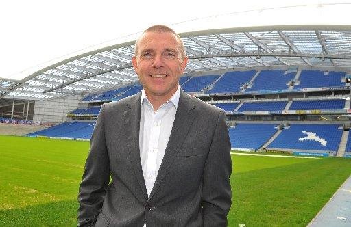 The Argus: FANTASTIC: Albion chief executive Paul Barber