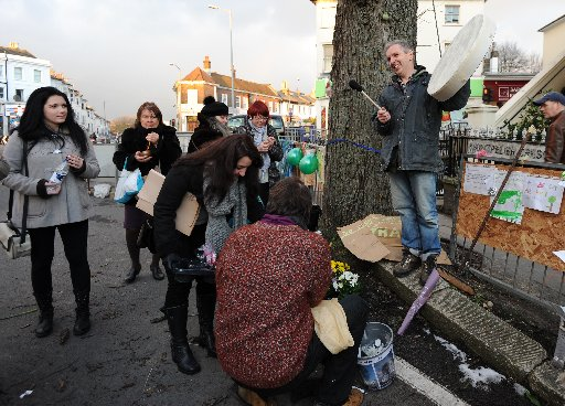 Blessing for threatened Brighton elm tree