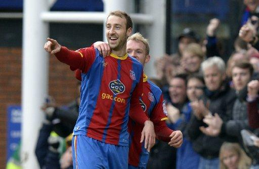 Glenn Murray celebrates a goal