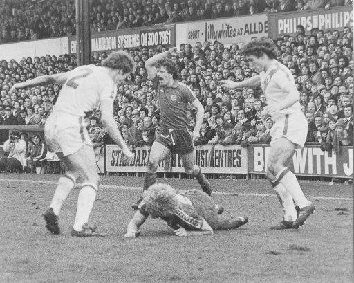 Derby action from the Goldstone 35 years ago this week as Teddy Maybank is fouled by Paul Hinshelwood and Kenny Sansom. We printed this photo earlier this season and it is typical of the classic archive shots which can be found in The Argus every Saturday