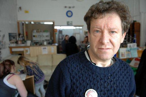 Tony Greenstein at the Brighton and Hove Unemployed Workers Centre