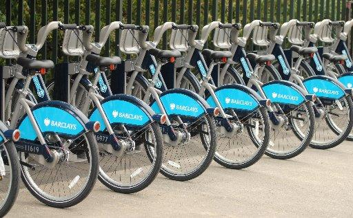 Boris Bike scheme is a bit of an uphill struggle