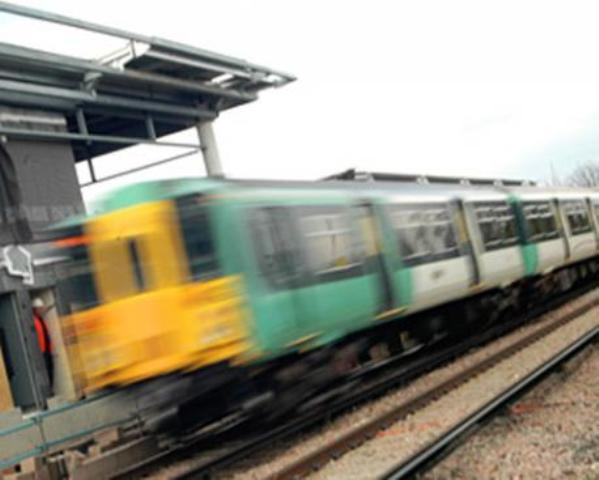 Person hit by train at Moulsecoomb