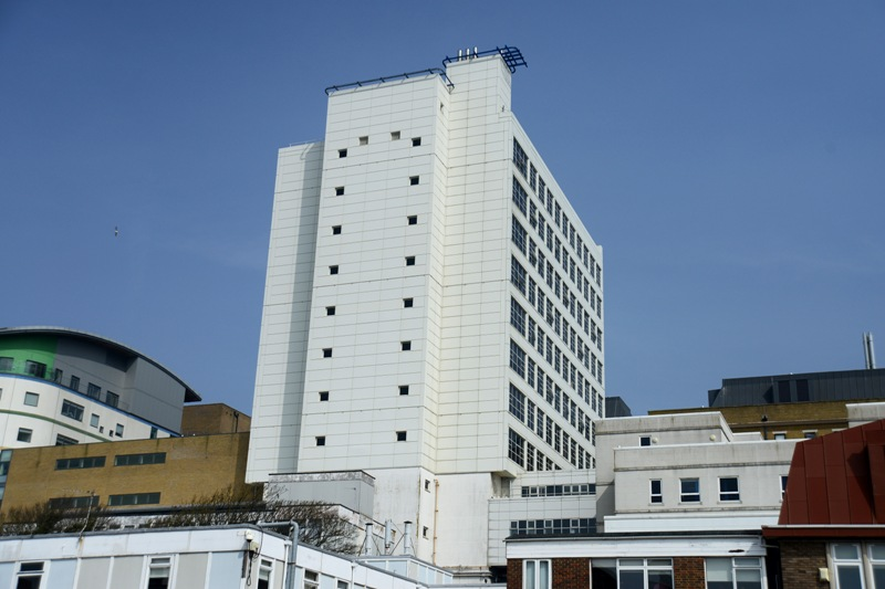 Signal failure: O2 customers are complaining about problems in the Royal Sussex County Hospital
