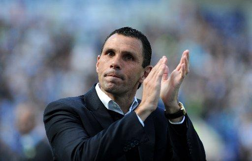 Manager Gus Poyet has been suspended by Albion