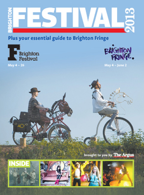 Pick up The Argus on Friday, May 3, for the special Festival and Fringe supplement with the latest news and ticket offers for both events