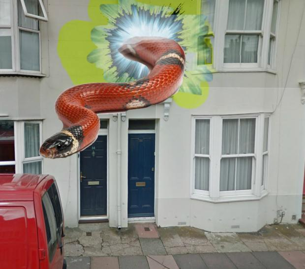 Vortex to another dimension reported in Brighton