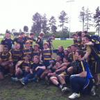 Worthing Raiders celebrate today