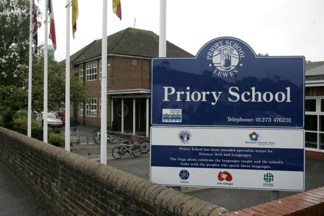 Police equipped with cameras had to be called after scores of children ran wild on their last day at school.
