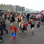 Superheroes step out in Brighton for African charity