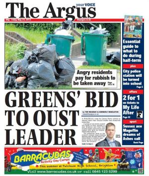 Selected headlines and reader offers/competitions from today's Argus