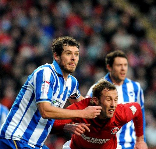 The Argus: Gordon Greer (left) could make his comeback for Albion against Reading in the FA Cup.