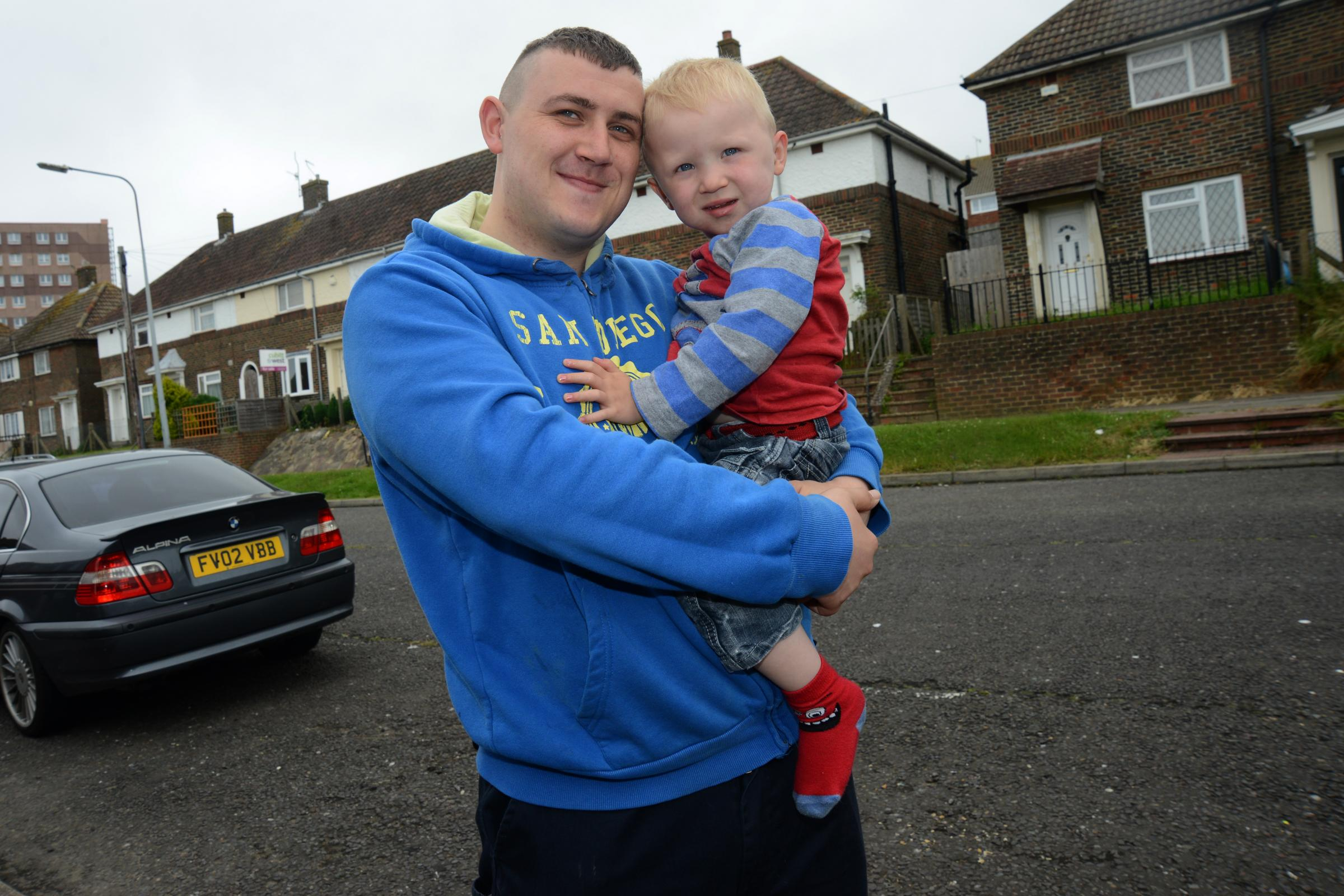 Whitehawk dad riding 200 miles for baby unit aid