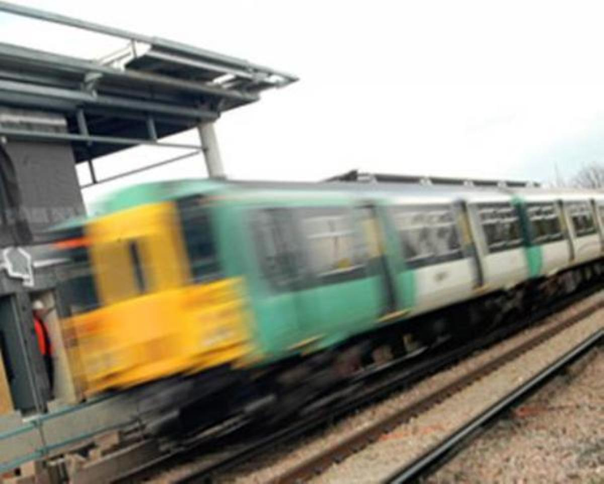 Person hit by train in Polegate