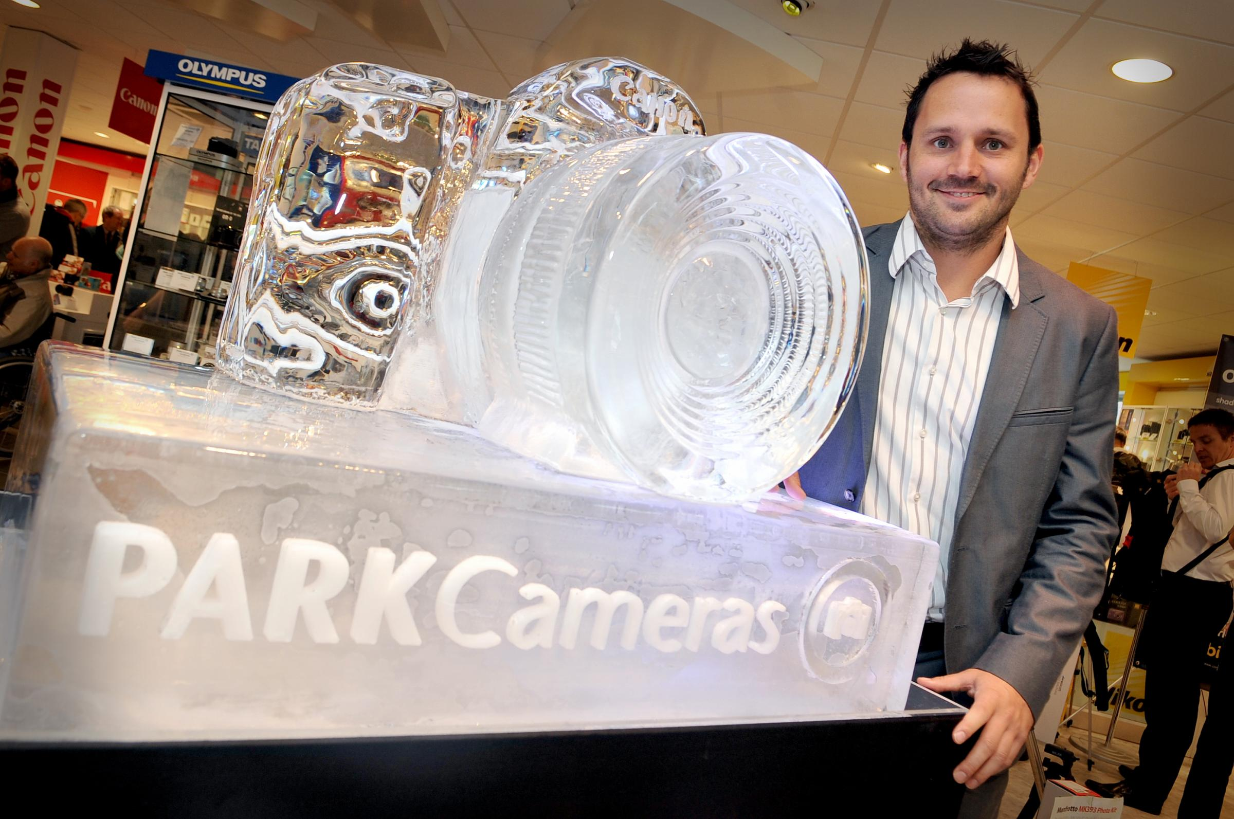 MD of Park Cameras Roscoe Atkins at Imaging Festival 2013