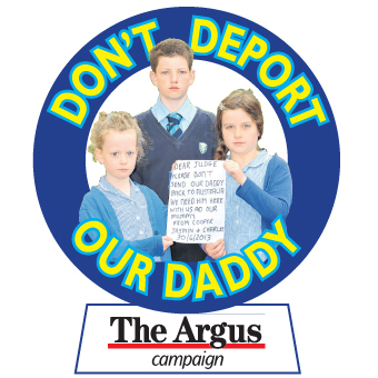 The Argus: Don't Deport Daddy