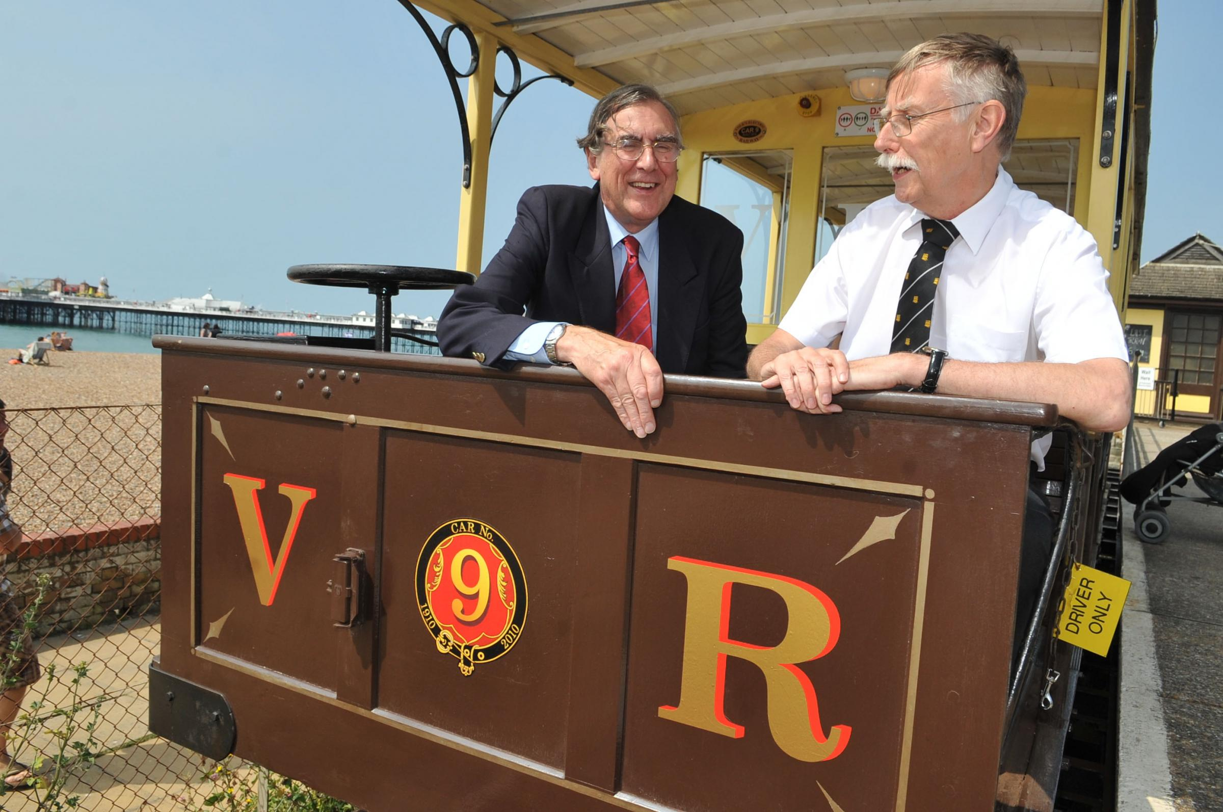 Volks Electric Railway on Brighton seafront wins mechanical engineering award