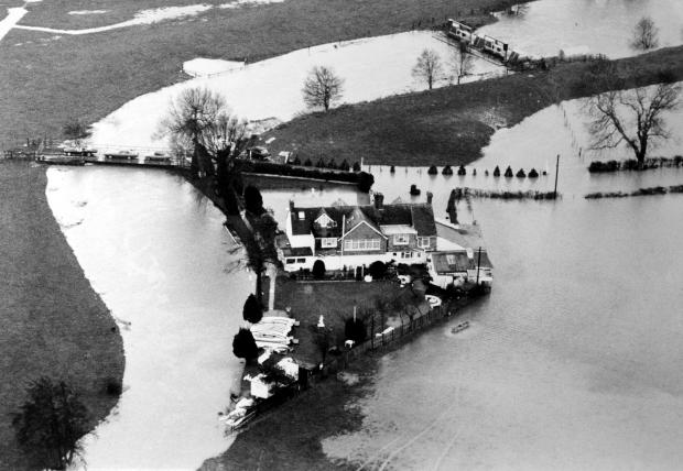 The Argus: Looking back: Barcombe's Anchor Inn rises above high tides' history