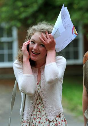 Making the grade: Sussex students excel in A-levels