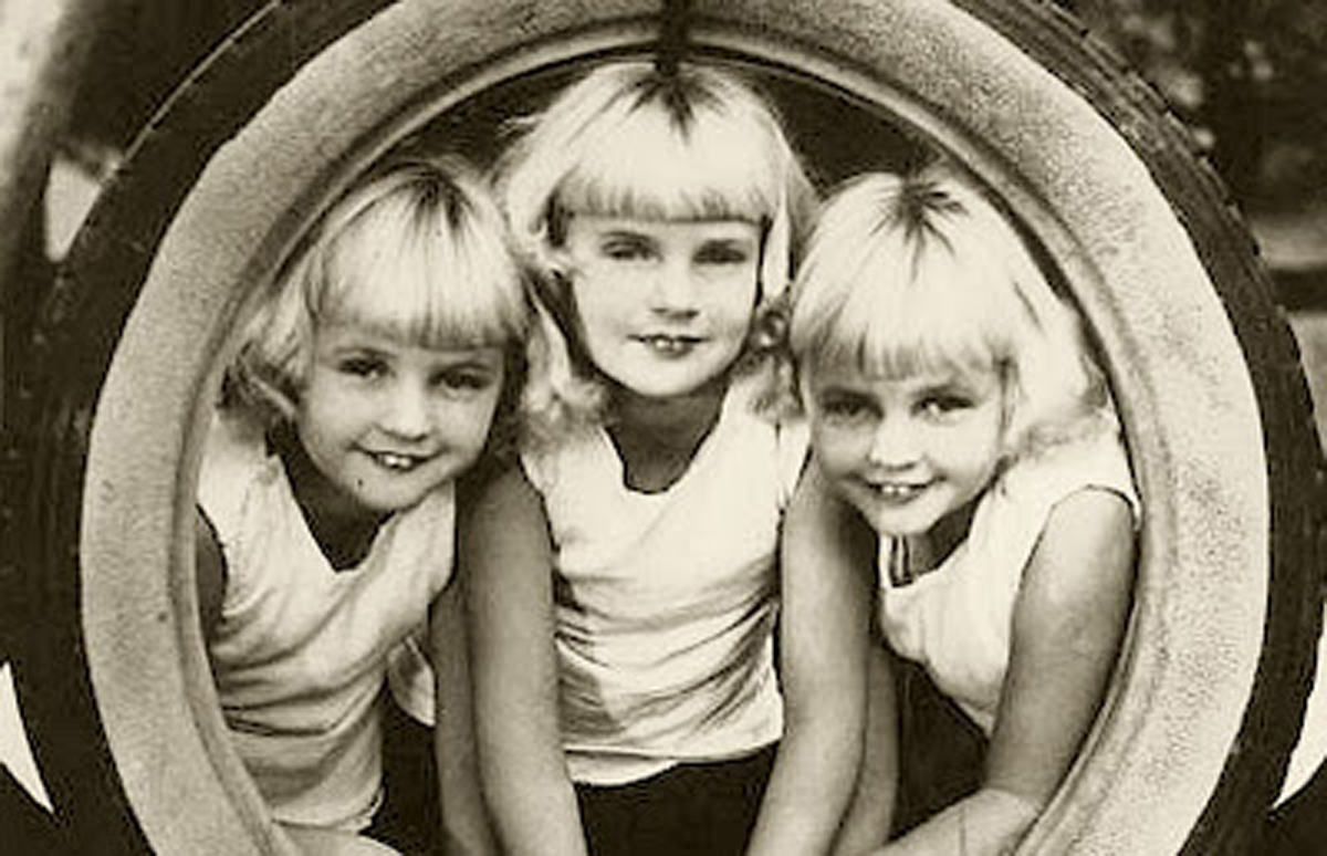 picture The Mawby Triplets